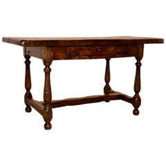 19th Century English Elm Table
