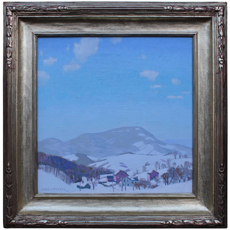 """""""Winter Moutain Scene"""" by Carl Lawless"""