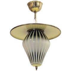 Midcentury Ceiling Lamp, Norway, 1960