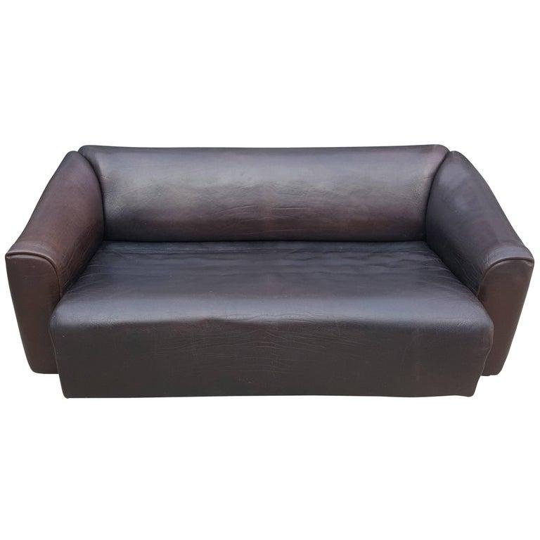 De Sede Sofa DS47 Three-Seat, High Quality
