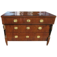 Biedermeier Walnut Wood Commode from circa 1830