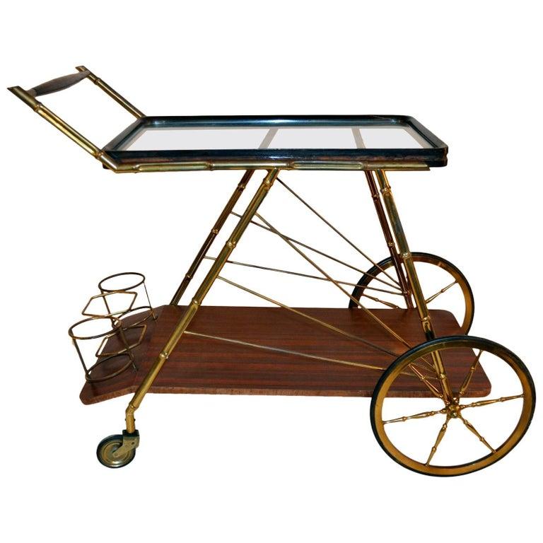 Midcentury Bar Cart Italy