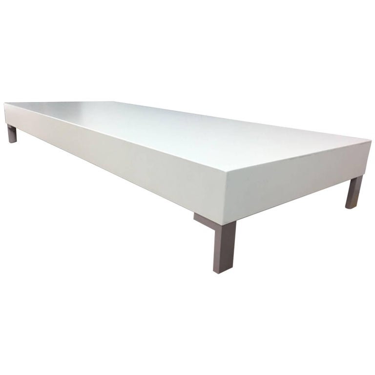 Low Coffee Table or Sculpture Display Table
