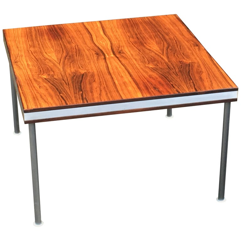 Rare Finn Juhl Square Rosewood Coffee Table for France and Son