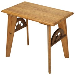 "American ""Ranch Oak"" Side or End Table"