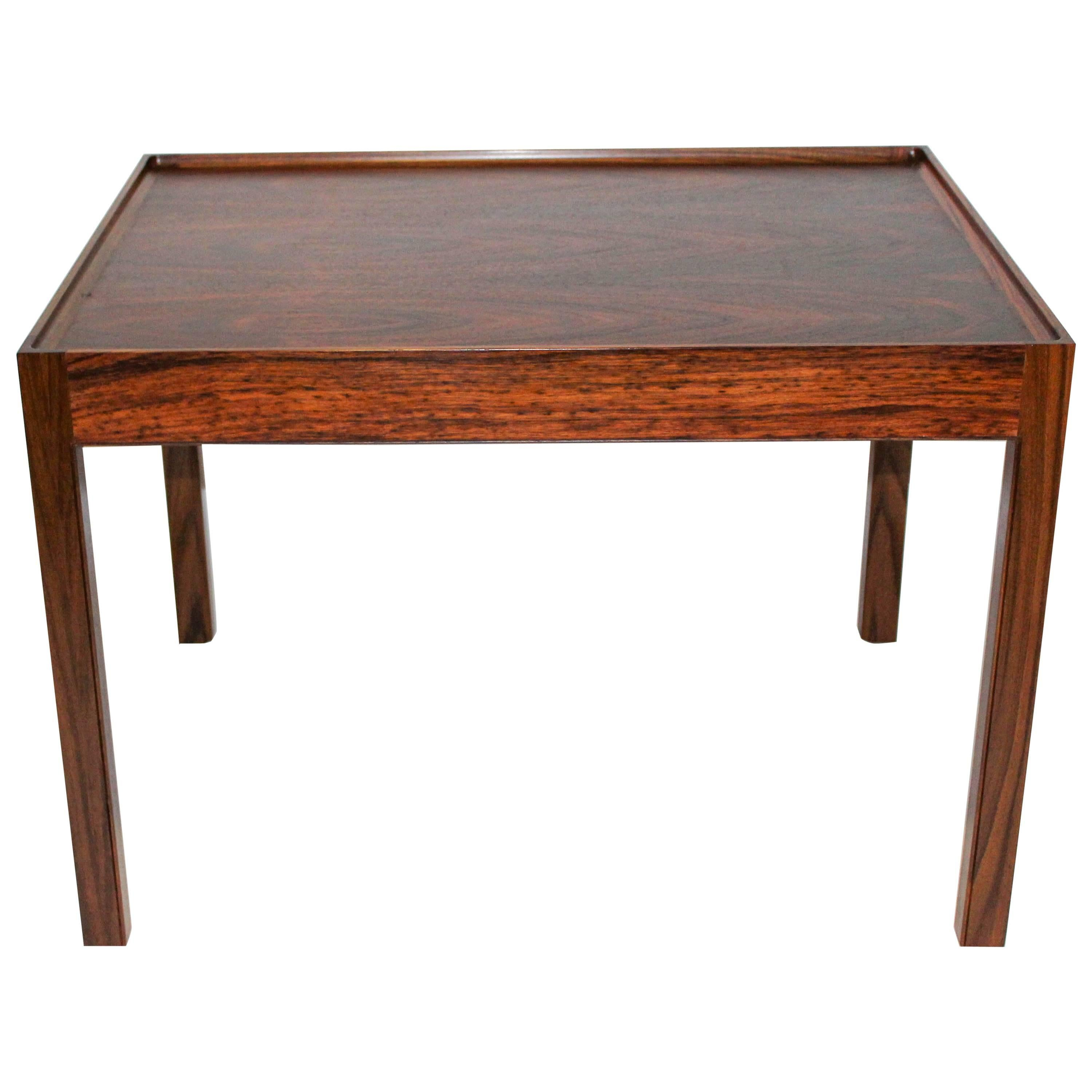 Midcentury Rosewood Coffee Table by Eric Christian Sørensen