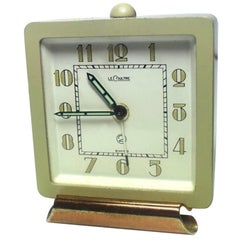 Rare Art Deco Clock by Jaeger-LeCoultre, circa 1930