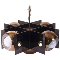 Mid-Century Modern Five-Light Fixture