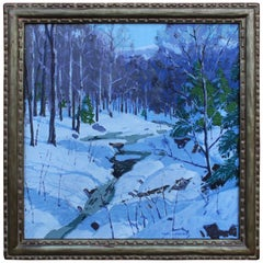 """Vermont Winter"" by Carl Lawless"