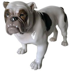 Bing & Grondahl Figurine English Bulldog #2110