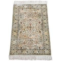 Pure Silk Tabriz Area Rug