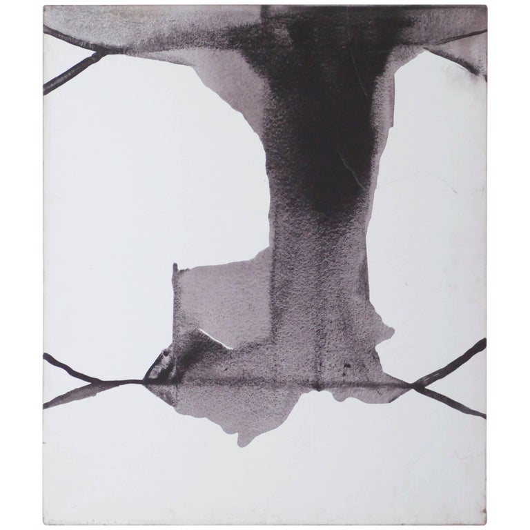 Guillermo Arizta Ink on Canvas, 1991