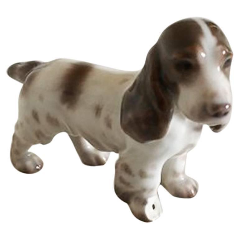 Bing & Grondahl Figurine of Spaniel #2172 For Sale