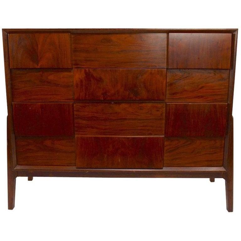 Rosewood Dresser by Piet Hein