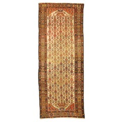 Antique Persian Malayer Runner, Hallway Runner