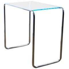 Thonet Bauhaus Side Table Glass Table B9 Marcel Breuer