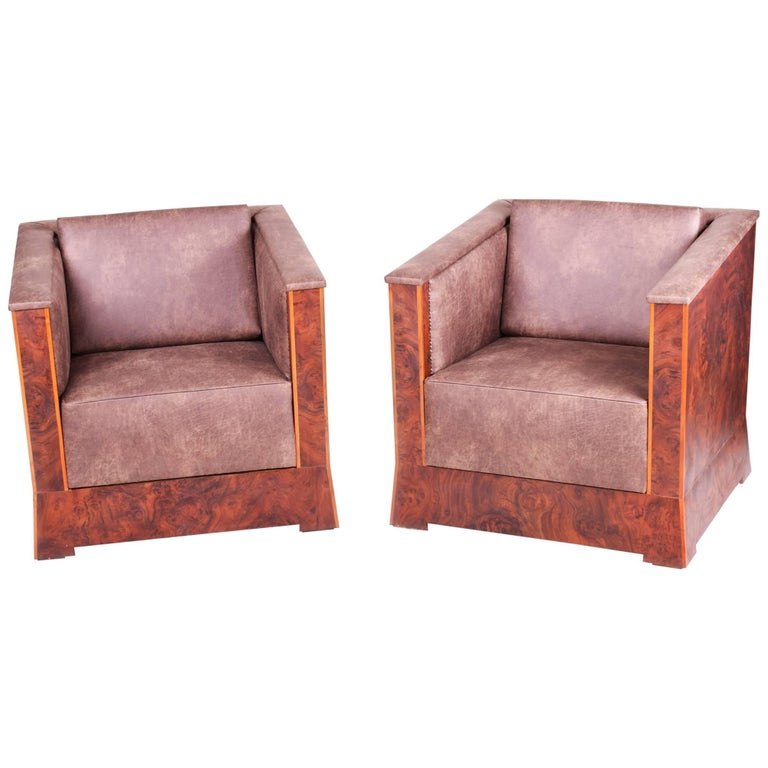 Unique Armchairs: Pair Of Unique Charles Limbert Armchairs For Sale At 1stdibs