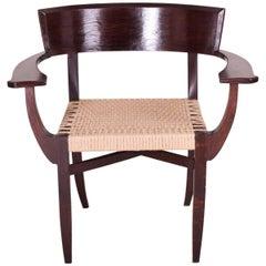 Unique Armchair, Completely Restored Period 1930-1939, Architect Oskar Poříska