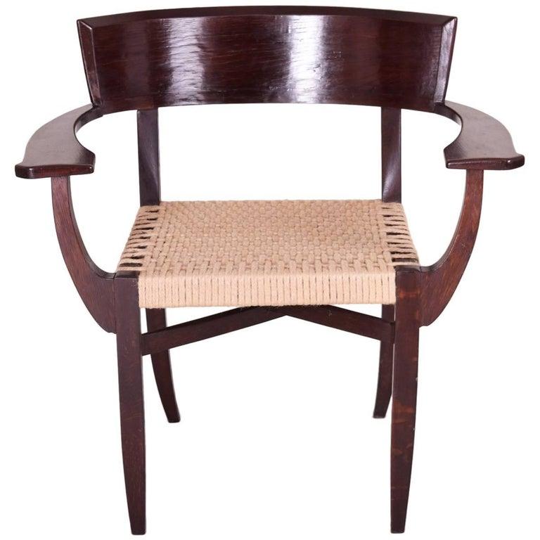 Unique Armchairs: Unique Armchair, Completely Restored Period 1930-1939