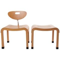 Ruud Jan Kokke Bended Wood Set in Japanese Style