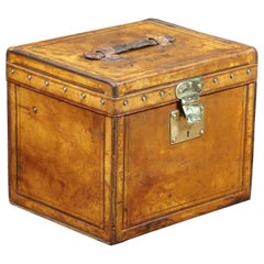 Louis Vuitton Leather Hat Trunk, 1910s