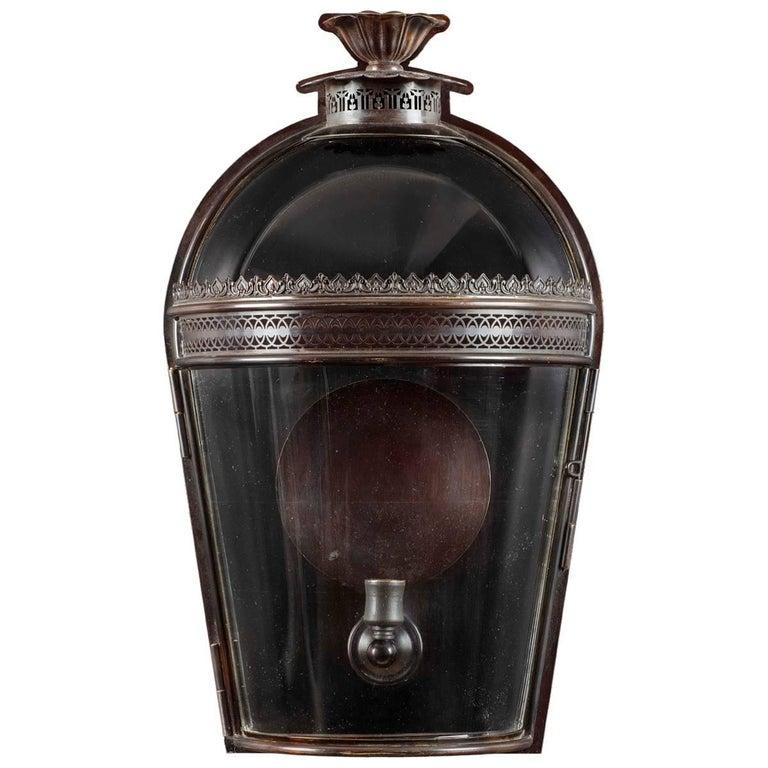 Hyde Glazed Wall Lantern For Sale