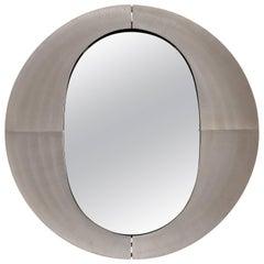 Lorenzo Burchiellaro, an Italian Etched Aluminium Mirror