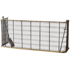 Large Brass Fender or Fire Guard