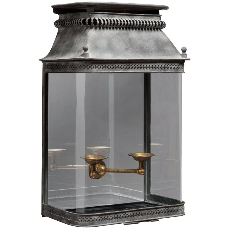Margot Refined and Delicate Pierced Metal Wall Lantern