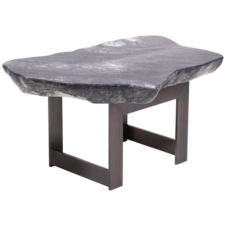 Chinese Meditation Stone Top Table