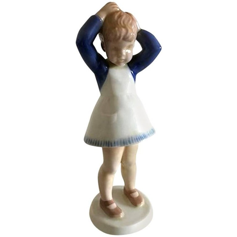 Bing & Grondahl Figurine Anne #2381 For Sale