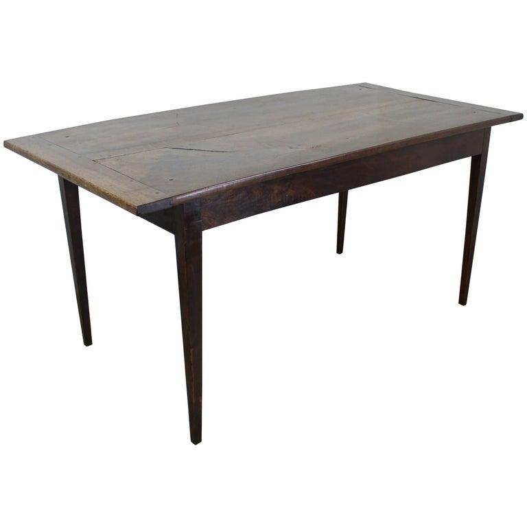 Smaller Two Plank Walnut Farm Table