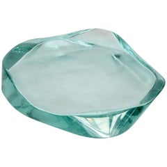 Fontana Arte Glass Dish or Vide Poche by Max Ingrand