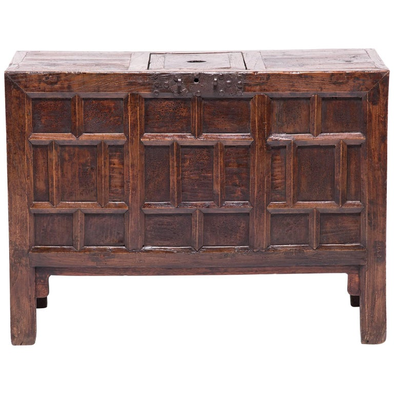 19th Century Chinese Keeper's Chest For Sale