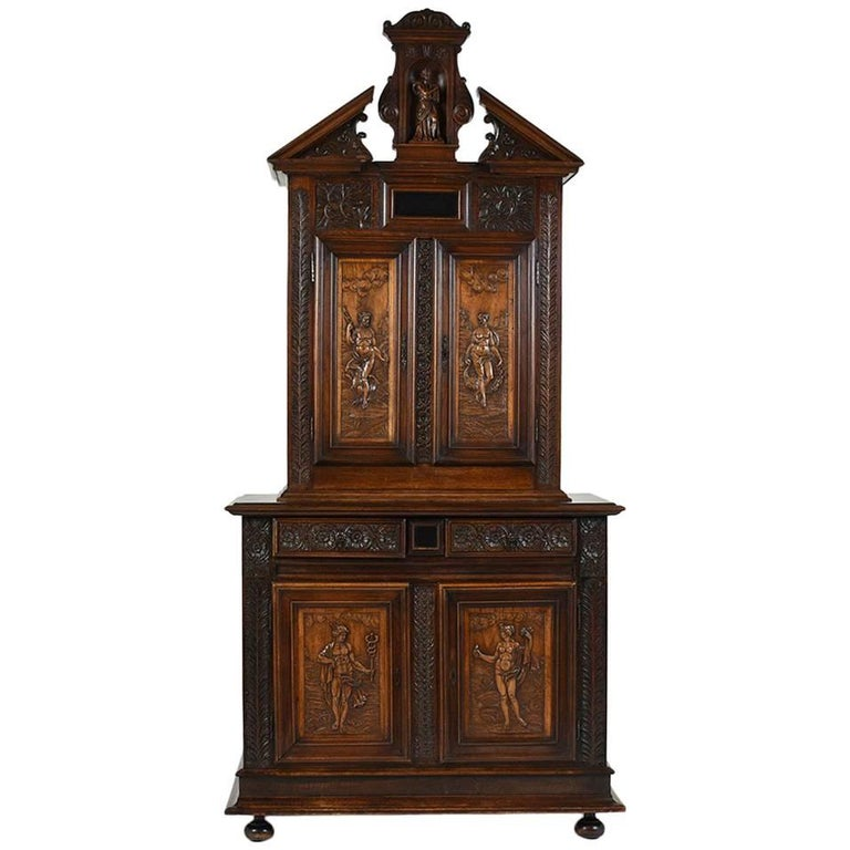 Early 19th Century French Renaissance Style Sideboard