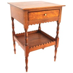 New Hampshire Federal Scalloped Birch Stand