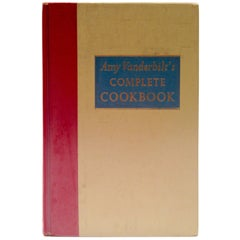 1961 First Edition Amy Vanderbilt's Complete Cookbook Drawings by Andy Warhol