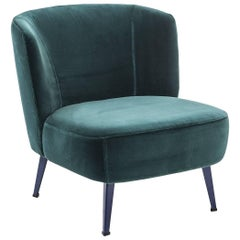 """Gimme Shelter"" Upholstered Armchair & Steel Frame & Base by Moroso for Diesel"