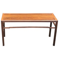 Solid Rosewood Side Table by Fritz Henningsen
