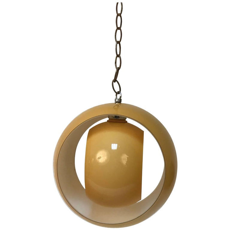 Pendant Eclisse by Carlo Nason for Mazzega Italia 1960s, Lighting Glass Murano