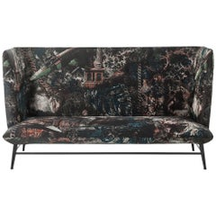 """Gimme Shelter"" Three-Seat Sofa with Steel Frame and Base by Moroso for Diesel"