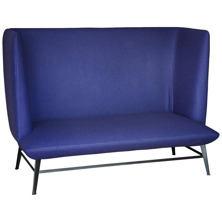 """Gimme Shelter"" Two-Seat Sofa with Steel Frame and Base by Moroso for Diesel"