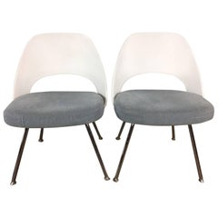 Pair of Eero Saarinen Executive or Dining Chairs