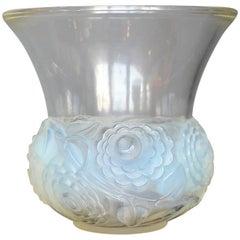 Lalique Art Deco Renoncules Vase