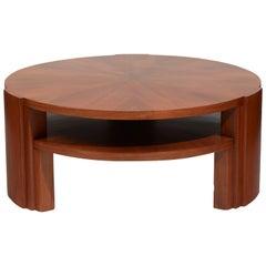 Dominique 'Genet et Michon', Elegant Pedestal Table
