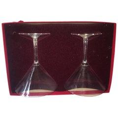 Baccarat Crystal Martini Glasses