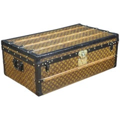 1901-1909, Louis Vuitton Monogram Cabin Trunk