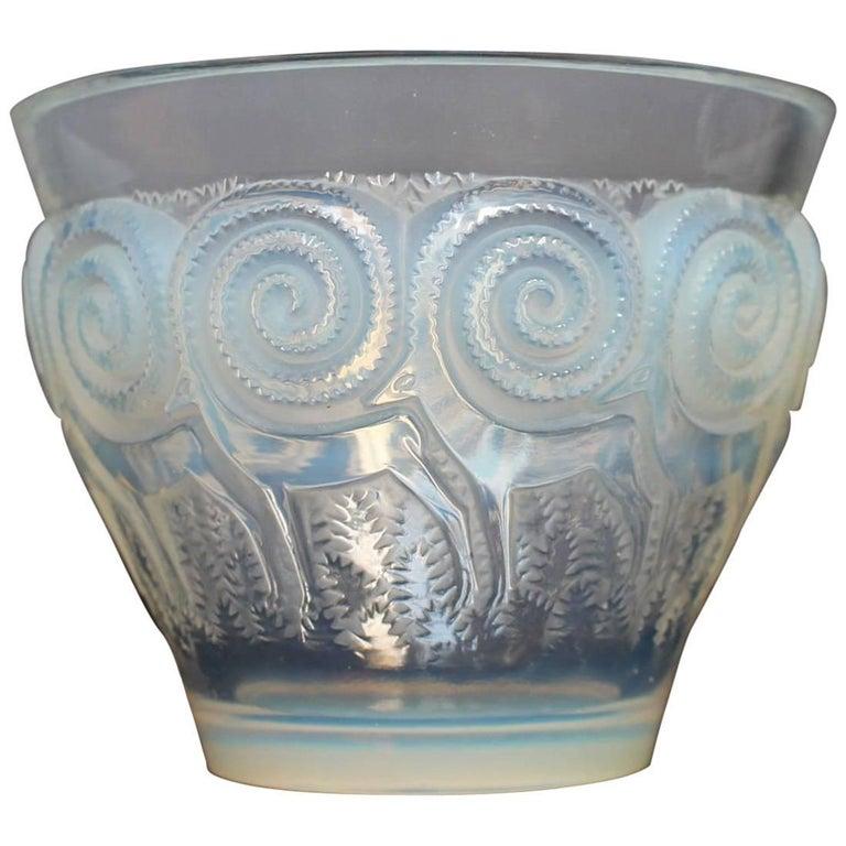 René Lalique Art Deco Rennes Vase