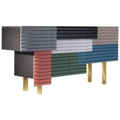 BD Barcelona Shanty Cabinet by Doshi and Levien in Multicolor or Monochrome