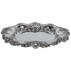 Fancy Antique American Sterling Silver Bowl by Tiffany